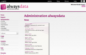 alwaysdata version 3
